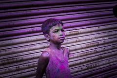 """Rang De Basanthi"" #Holi2018 (@LeFraming) Tags: holi color truecolor festival india southindia chennai tamilnadu nikon iamnikon red yellow green pink magenta purple blue cyan rgb cmyk street photography portraits people face joy happy celebration"