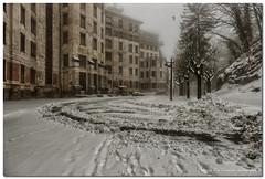 "Location Of The Movie Set Suspiria [Remake] (""Deca"") Tags: varese campodeifiori montagna mountain inverno winter marzo march neve snow"