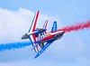Patrouille de France (Steve G Wright) Tags: patrouilledefrance alphajet jetaircraft jet aircraft airshow airdisplay aviation display duxford displayteam france french aerobatic aerobaticteam
