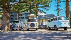 Kombination (1) (geemuses) Tags: kombi vw volksqagen car automobile surf surfculture manly manlybeach newsouthwales color colour blue travel road