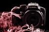 Panasonic DMC-FZ200 (Ray. Hines) Tags: pentaxk5 smcpentaxda18135mmf3556edalifdcwr panasonicdmcfz200 blackintheback smoke productphotography lumix