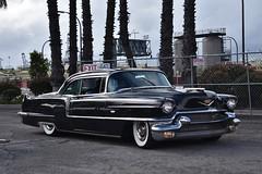 Blood Drive Car Show 2018 (USautos98) Tags: 1956 cadillac caddy caddie hotrod streetrod custom