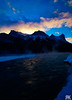 Bow Valley Sunset (ryan.kole32) Tags: canmore canmorealberta alberta canada canadianrockies rockies rockymountains landscape nature beauty beautyinnature travel outdoorsmhiking bowvalley bowriver halingpeak sony sonya77 teamsony sunset sunrise colourful colorful winter ice snow frozen