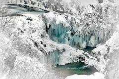 Plitvice, Croatia (Mladen Perić) Tags: outdoor rock water landscape waterfall slap slapovi park prirode voda led sige ap wood tree forest snow lika vodopad jezero priroda snijeg