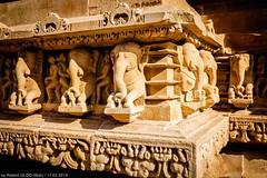 Khajuraho - Temple complex - Lakshmana Temple (Robert GLOD (Bob)) Tags: architecture art building construction handicraft hindu hinduism religion religious spiritual spirituality temple temples unesco khajuraho madhyapradesh luxembourg inde ind in india