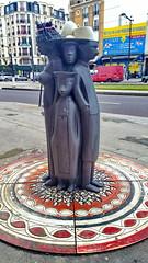 401 Paris en Février 2018 - Porte de Montreuil, Boulevard Davout (paspog) Tags: paris france février februar february 2018 sculpture sculptures statues statue boulevarddavout
