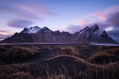Vestrahorn (Daniele Penati Photo) Tags: iceland sky nd filter sunset black sand mountainscape landscape