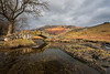 Slaters Bridge (Pete Rowbottom, Wigan, UK) Tags: landscape uk nikond750 slatersbridge littlelangdale thelakedistrict sunlight hills mountains river peaceful packhorsebridge rocks trees orange light clouds cumbria england peterowbottom nisifilters nikon1424f28 wideangle tranquil still serene geotagged 2018 winterlandscape water reflection calm nisis5 fells