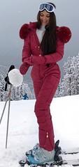 red (skisuitguy) Tags: skisuit snowsuit ski snow suit skiing skifashion skiwear skioutfit skibunny snowbunny onepieceskisuit onepiecesuit onesie onepiece skianzug skidress allinone