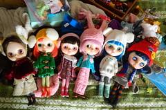 Custom girls in winter