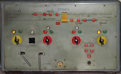 Stonea Panel 1980s (recreation) (P Way Owen) Tags: stonea signalbox diagram panel