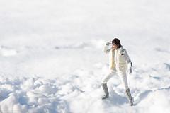 "Hot Toys ""Empire Strikes Back"" Princess Leia (edwicks_toybox) Tags: 16scale empirestrikesback hoth carriefisher femaleactionfigure hottoys princessleia snow starwars winter"