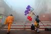 Makar Sankranti in Varanasi (pallab seth) Tags: varanasi people devotee tradition morning prayer ritual ganga river holydip banaras benaras india ganges religion religious belief traditional culture asia hindu hinduism bathing candid winter fog mist makarsankranti ghat