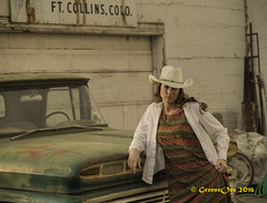 Ft Collins Shoot (daytonwheel) Tags: ftcollins girl colorado cowgirl model rustic wyoming usa