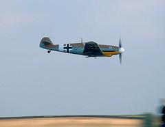 Messerschmitt Bf109G-2 Trop Black 6 (rac819) Tags: bf109 messerschmitt black6 duxford iwmduxford flyinglegends gustav luftwaffe classicaircraft