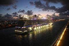Celebrity Equinox Returning to the Port of Miami (Miami, Florida) - February 24, 2018 (cseeman) Tags: celebritycruises celebrityequinox celebritycruisesequinox celebrityequinoxfebruary17242017 celebrityequinoxeasterncaribbeanfebruary17thsailing sethsbigfatbroadwaycruise sethsbigfatbroadwaycruisefebruary2018 sethsbigfatbroadwaycruisecelebrityequinox equinoxfeb172018 cruise cruiseship ships miami florida portofmiami cruiseshipports miamicruiseshipport port shipping sunset ferry carferry porttraffic traffic carnivalglory carnivalvista carnivalcruiseline mscseaside msccruises norwegianescape ncl downtownmiami city tugs tugboats morning early equinoxreturnfeb242018 returntomiami earlyarrivals
