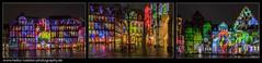 Hildesheim@Night (H. Roebke) Tags: 2018 canon1635mmf28lisiii canon5dmkiv color nachtaufnahme evilichtungen projektion langzeitbelichtung kunstlicht hildesheim farbe robertsochack architekturprojektion architecture nightshot architektur lichtkunst longexpo lightroom germany moodboard collage