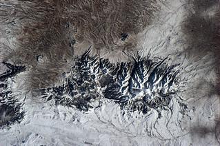 Mountain range in Montana, USA