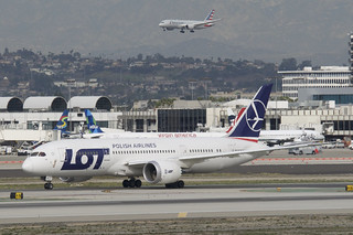 LOT Polish Airlines Boeing 787-800 Dreamliner; SP-LRG@LAX;30.01.2018