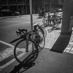 Push bikes and motorbike