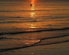 Sunset over Sanibel island Florida (kitmasterbloke) Tags: sunset gulfofmexico florida fortmyers sanibel sea water reflection outdoor