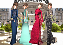 LuceMia - Swank Event (MISS V♛ ITALY 2015 ♛ 4th runner up MVW 2015) Tags: swankevent sl jumo glitter poses fanatic gia gown formal hud colors texture beauty creations mesh models lucemia