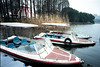 Dock by east lake @ wuhan China (tymobile) Tags: wuhan kodakektar100 filedcamera carlzeiss53mmbiogon 6x9 120 technikaiv linhof
