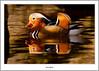 Mandarin Reflected (flatfoot471) Tags: 2017 balloch bird duck mandarin march nature normal riverleven rural scotland spring unitedkingdom westdunbartonshire gbr