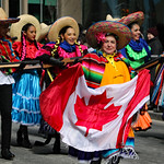 Faces of St. Patrick's Day Parade: Mexicans in traditional costumes thumbnail
