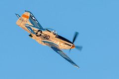 North American P-51 Mustang (gilamonster8) Tags: north american heritage flight training certification course 2018 plane warbird sky blue aircraft mustang tucson az