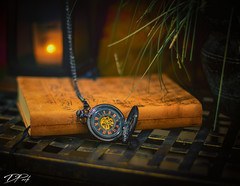 Watch - Still Life (Dan NYNJ) Tags: stilllife watch candle book