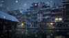 The winter ain't over till it's over (VandenBerge Photography #goneforawhile) Tags: snowing winter water river aare switzerland town cityscape floodgates oldtown season lights weather europe thun berneseoberland cantonberne houses atmosphere canon eos80d
