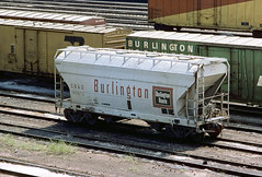 CB&Q Class LO-11 183912 (Chuck Zeiler) Tags: cbq class lo11 183912 burlington railroad covered hopper freight car cicero train acf chuckzeiler chz