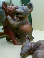 perritos (1) (canecrabe) Tags: dog chien colima culture mexique laspalmas grancanaria casadecolón céramique potterie