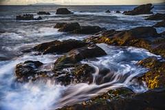 Wavy ocean (aotaro) Tags: jogashima longexposure ocean fe424105goss oceanwaves nd1000 jogashimaisland ilce7m2 kanagawa morning waves japan sea