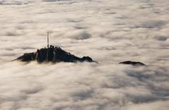 Foggy sea... (Alex Switzerland) Tags: nebbia fog canon eos 6d landscape brouillard outdoor mountain switzerland southernswitzerland schweiz lugano tessin ticino outside mist peak