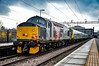 37601 + 350247 - Northampton - 10/03/18. (TRphotography04) Tags: 564m 0855 northampton emd long marston rail operations group rog europhoenix 37601 perseus stands with 350247 tow working 5q94 100318 tractor the class 350 was off for corrosion repairs