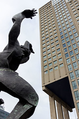 The Destroyed City Sculpture, Rotterdam