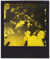 Midnight beer  in Vienna (Giorgio Verdiani) Tags: polaroid 600 impulse impossible project instant image 600asa 600iso istantanea camera vienna wien midnight mezzanotte notte night thirdman impossibleproject yellow giallo chnt 2017 austria österreich marco anna stefania elisa stéphan alessandro filippo francesco barbara beer birra birre beers table tavolo centimeter centimetro