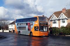 623 (timothyr673) Tags: nct nctroute36 nottinghamcitytransport scania bus orange orangeline n230ud e400 enviro400 alexanderdennis adl 623 yn14mue