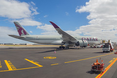 Qatar Airways   A350-900   A7-ALD (Anthony Kernich Photo) Tags: a7ald airbus a350xwb airbusa350 widebody a350 airplane aircraft airplanepicture airplanephotograph airplanephoto commercialaviation plane aviation jet olympusem10 olympus olympusomd planespotting planespot aeroplane flight flying airline airliner raw oneworld adelaide adelaideairport ypad qatar qatarairways