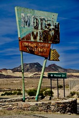 "Old Motel sign near Globe, Arizona (tvdflickr) Tags: ""ushwy60"" arizona motel sign nikon d850 nikond850 photobytomdriggers thomasdriggersphotography tvdimages old abandoned"