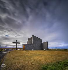 Blönduóskirkja | Iceland (kenneth chin) Tags: nikon d810 nikkor 1424f28g iceland yahoo google blönduóskirkja church nisi