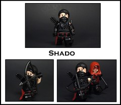 Shado (-Metarix-) Tags: lego super hero minifig dc comics comic rebirth green arrow shado robert queen oliver emiko red archer assasin