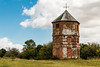 The Pepperbox of Pepperbox Hill (Keith in Exeter) Tags: pepperbox pepperpot folly tower brick hexagonal building architecture hill down wiltshire nationaltrust landscape field grass tree bush sky