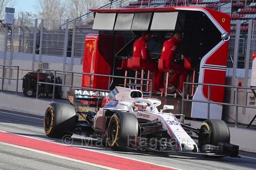 Sergey Sirotkin in Formula One Winter Testing 2018