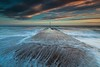 Ferring, Sussex (E_W_Photo) Tags: ferring england uk sussex outfall brick paving wave sunset clouds tide seascape sea pebble canon 80d sigma 1020mm leefilters