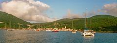 Lets sail away from it all (Keegan L) Tags: xpan hasselblad film analoge analogue panoramic 45mm caribbean ocean westindies west indies sailing sailboar sailboat catamaran filmcamera