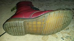 20170923_115832 (rugby#9) Tags: drmartens boots icon size 7 eyelets doc docs doctormarten martens air wair airwair bouncing soles original 14 hole lace docmartens dms cushion sole yellow stitching yellowstitching dr comfort cushioned wear feet dm 14hole cherry indoor 1914 boot footwear shoe macro