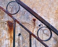 rusty railing (-liyen-) Tags: activeassignmentweekly rust entropy railing texture fujixt2 bestofweek1 bestofweek2 challengeyouwinner cyunanimous